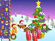 Christmas snow world decoration online pc j�t�k