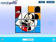 Mickey Mouse sliding puzzle pc j�t�kok